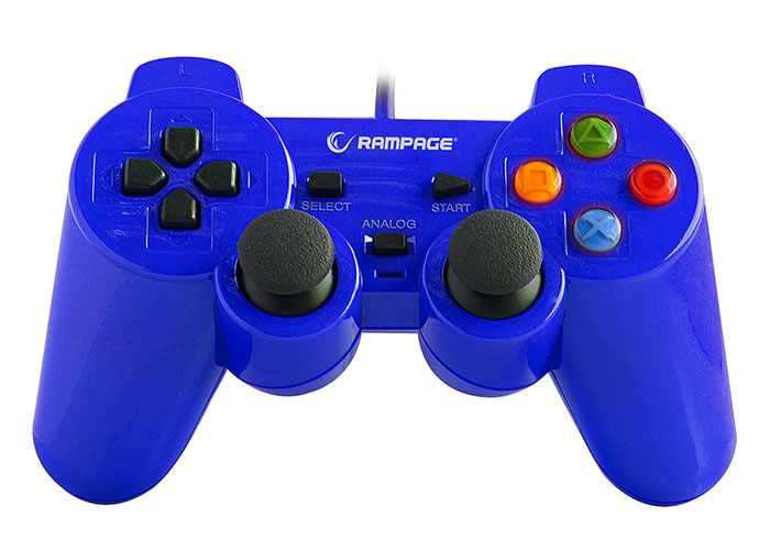 Snopy Rampage SG-R602 Ps3-Pc Mavi USB 1.8m Joypad