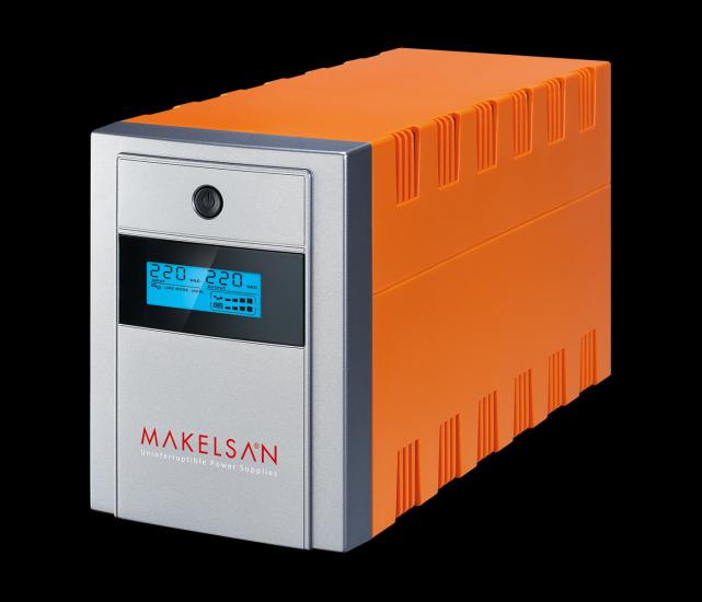 Makelsan Lion Plus 2200 VA Line Interactive Ups 2-9Ah Akü