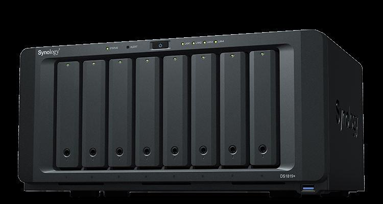 Synology DS1819PLUS Nas 8AD 3,5 Disk Storage