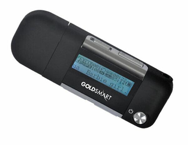 Goldsmart MP3-153 4GB Siyah Mp3 Player