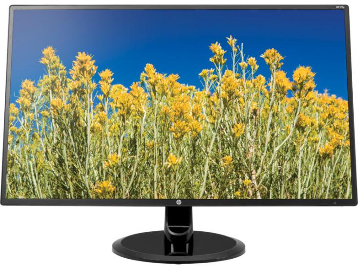 HP 27'' 27y 2YV11AA 5ms FHD Vga Dvi HDMI IPS Led Siyah Monitör